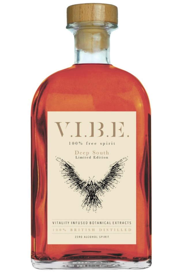 Vibe Deep South Limited Edition Alcohol Free Bourbon Whiskey Alternative The Alcohol Free Co